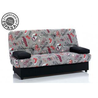 Sofá cama clic clac con arcon modelo Arc Roller