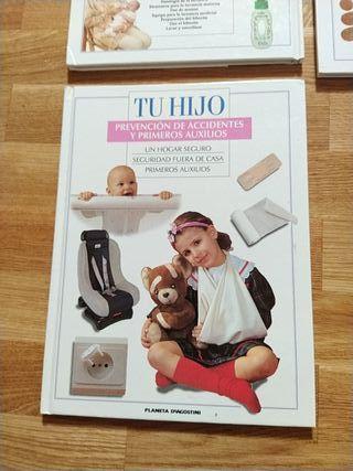 Libro Tu hijo prevención de accidentes y primeros