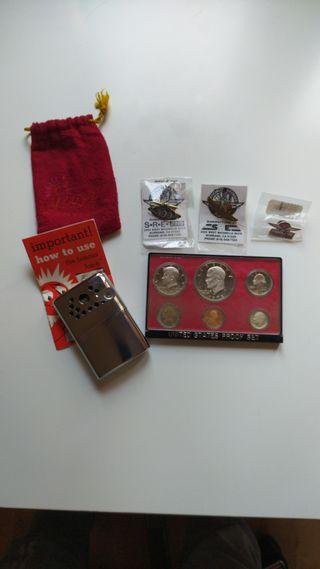 Calienta manos-Monedas-Pin