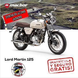 2020 MACBOR LORD MARTIN 125 MEJORES OFERTAS