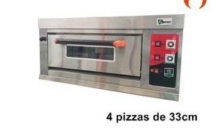 HORNO PARA PIZZA 4X33 CM A GAS