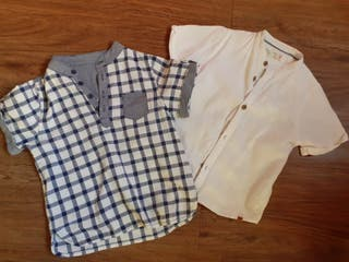 Camisas de niño Zara