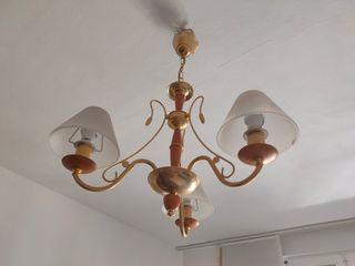 Lámpara techo salón