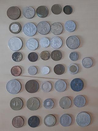 monedas mundiales lote