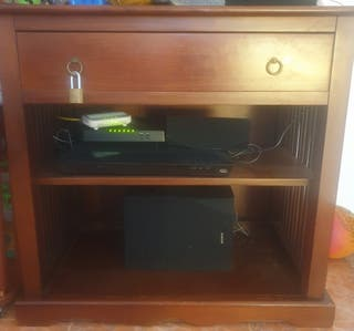 mueble tv colonial