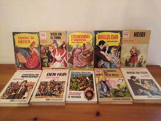 Lote 10 libros