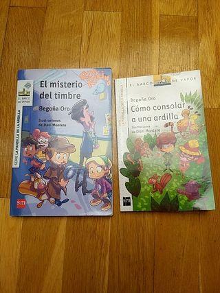 Libros infantiles La pandilla de la ardilla