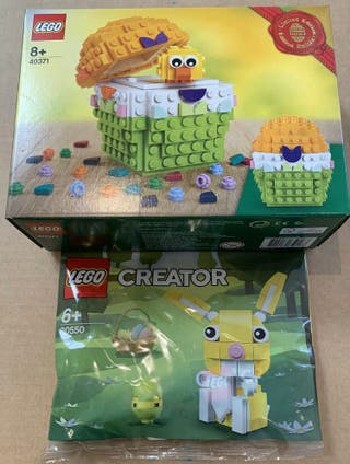 Lego huevo de pascua (40371) y conejo (30550)