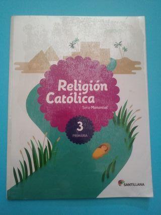Libro religión 3 primaria