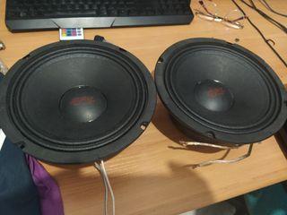 altavoces medios/grabe spl audiosysten