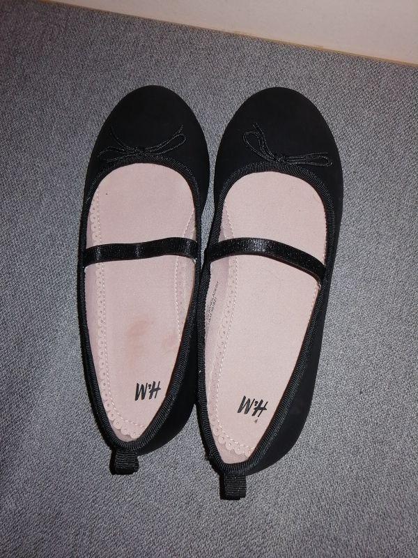 manoletinas NIÑA H&M talla 33