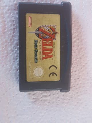 Juego Game Boy Zelda Four Swords