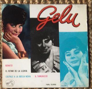 GELU Disco Vinilo EP con 4 canciones