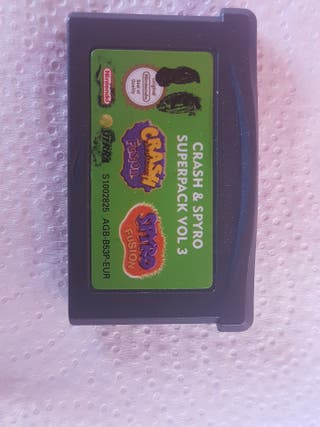Juego Game Boy Crash&spyro vol 3