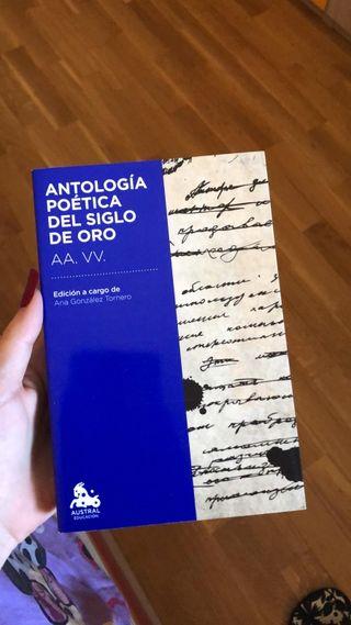 libro antologia poetica del siglo de oro