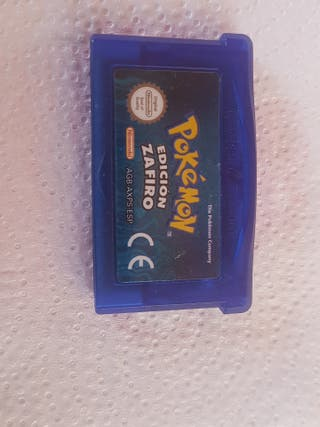 Juego Game Boy Pokemon Zafiro