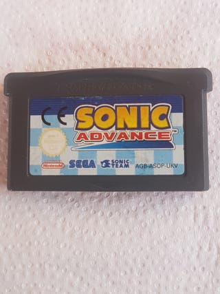 Juego Game Boy Sonic Abvance