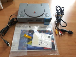 consola PS1 con Memory CARD + DEMO + Juegos