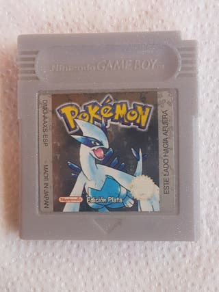 Juego Game Boy Pokemon Plata