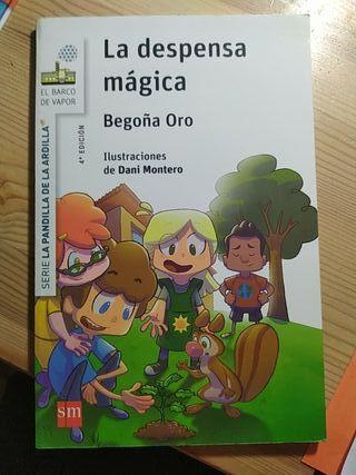 Libro: La despensa mágica IBSN 9788467576955