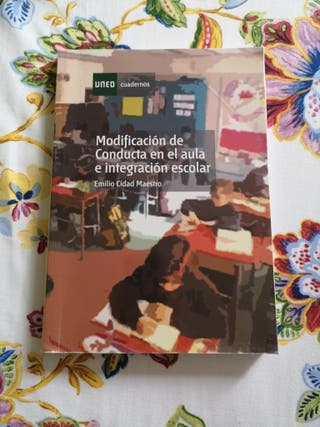 libro uned (magisterio) modificación de conducta