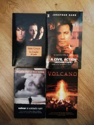 Pack libros cine