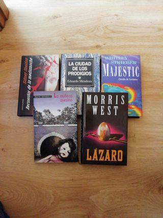 Pack libros narrativa