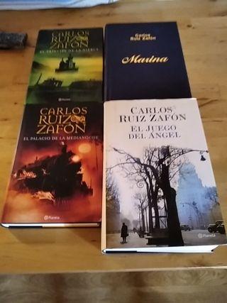 libros Carlos Ruiz Zafon