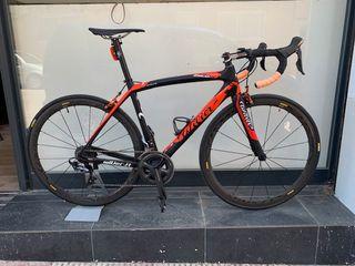 Bici Carretera Wilier ZERO9 T/M Carbon. 2 Salidas