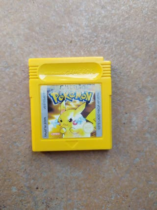 Juego Pokémon Amarillo Game Boy Color
