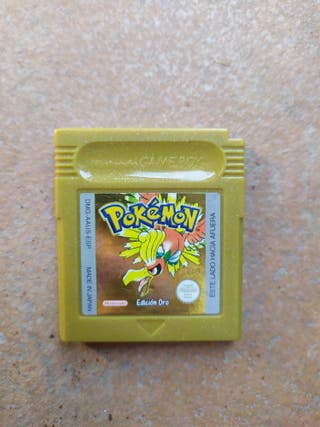 Juego Pokémon Oro Game Boy Color