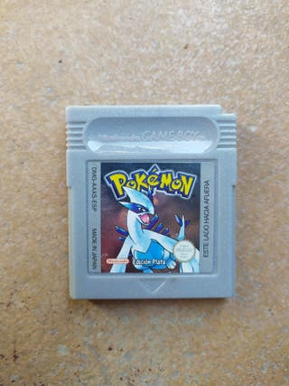 Juego Pokémon Plata Game Boy Color