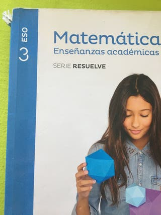Libro matemáticas aplicadas 3 eso