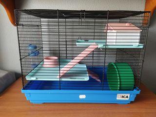Jaula Hamster + accesorios