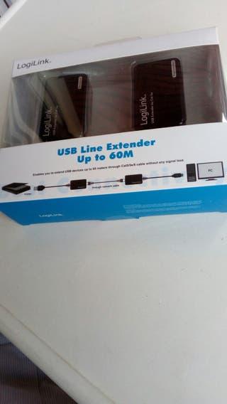 USB Line Extender to 60 mts