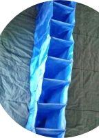 Organizador de ropa y calzado vertical para colgar