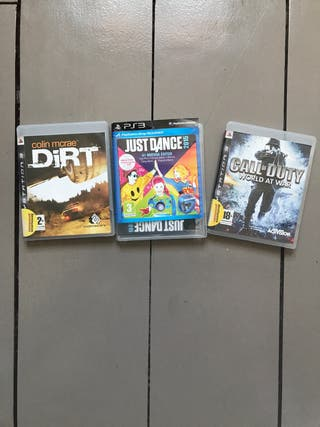 3 videojuegos para ps3