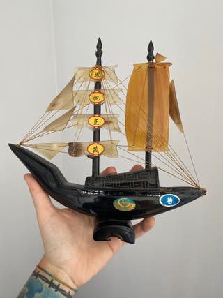 Barco decoración Chino