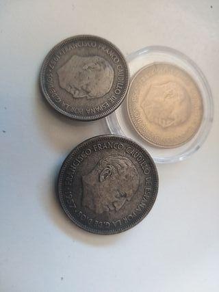 3 Monedas de colección