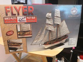 maqueta barco FLYER
