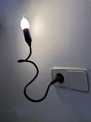 Lámpara / aplique directa enchufe