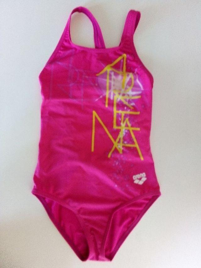 Bañador de natación #Arena para niña Talla 8 años