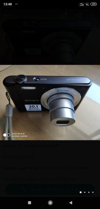 Cámara de fotos Sony 20,1mpx