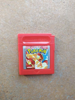Juego Pokémon Rojo Game Boy Color