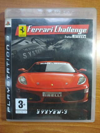 FERRARY CHALLENGE PARA PS3