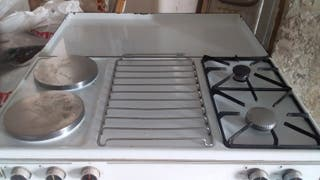 cocina eléctrica y gas con horno Balay
