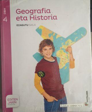 LIBRO DE GEOGRAFÍA ETA HISTORIA 4.ESO SANTILLANA