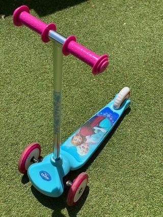 Patín Frozen 3 ruedas