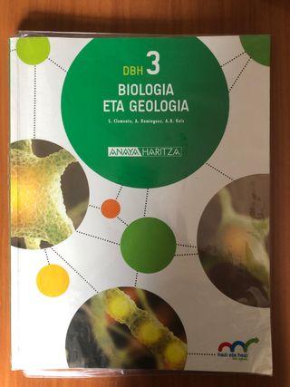Libro de Biología y geología