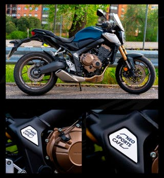 Embellecedor chasis lateral Honda CB650R y CBR650R